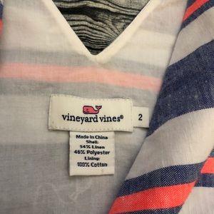 Vineyard Vines Dresses - Vineyard Vines - Striped Linen Dress